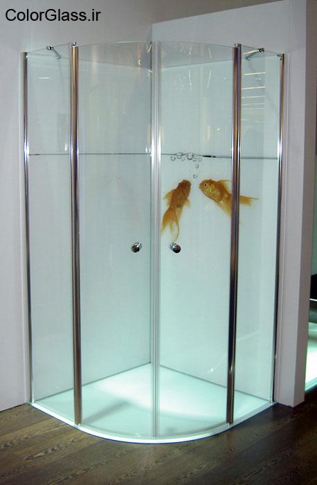 شیشه چاپی،چاپ روی شیشه،شیشه چاپی حمام