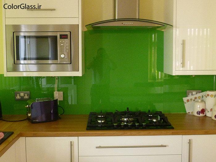 شیشه رنگی،شیشه لاکوبل،شیشه رنگی سبز