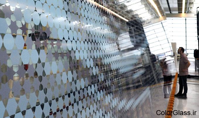 شیشه چاپی برای فروشگاه،چاپ روی شیشه