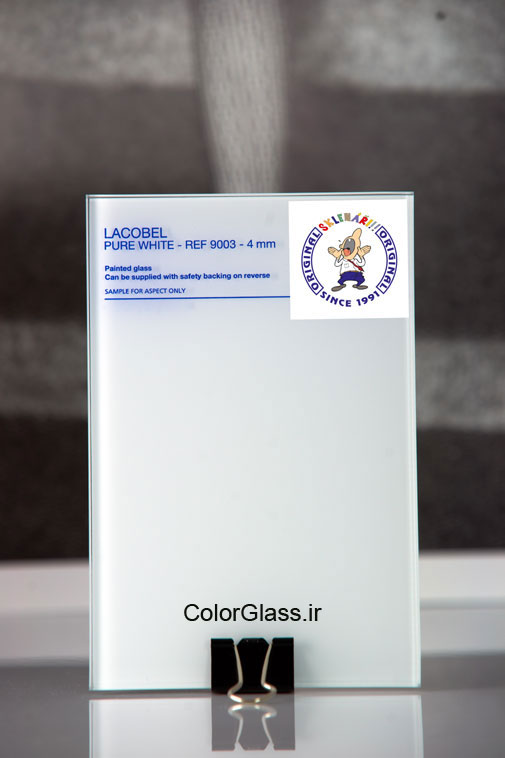 شیشه رنگی،لاکوبل،شیشه رنگی سفید